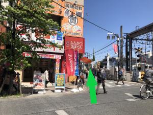 千歳烏山駅前踏切