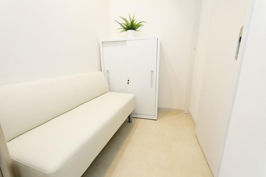発熱専用待合室